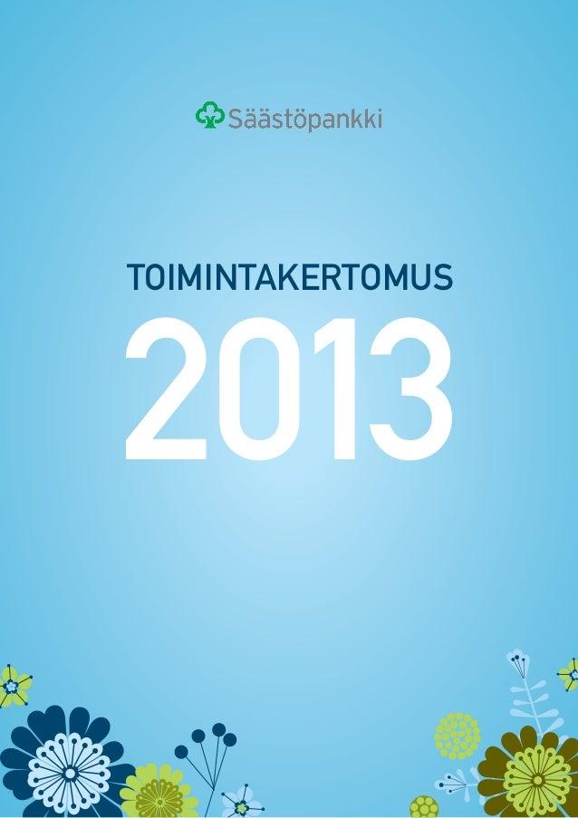 toimintakertomus  2013