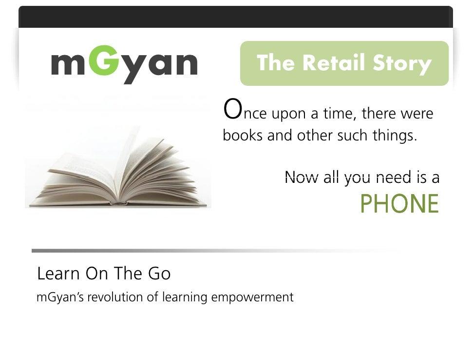 Retail - Mobile Learning through mGyan