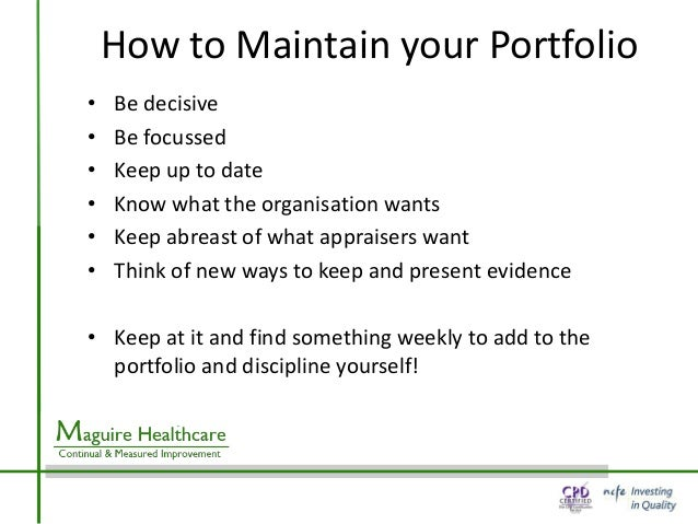 Reflection for appraisal for What do appraisers look for