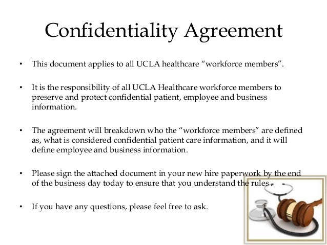 Mha690 w1 disc2 – Medical Confidentiality Agreement