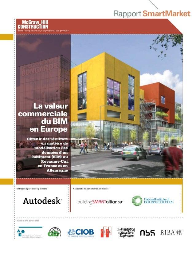 RapportSmartMarket Entreprise partenaire première Associations partenaires Obtenir des résultats en matière de modélisatio...