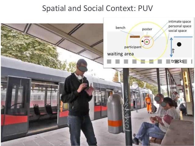 Spatial and Social Context: PUV