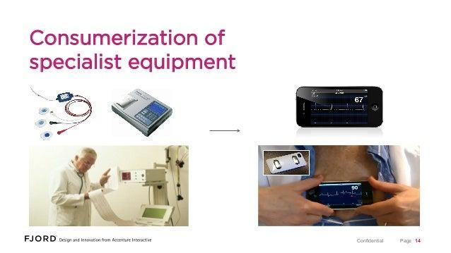 Consumerization of specialist equipment  Confidential  Page 14