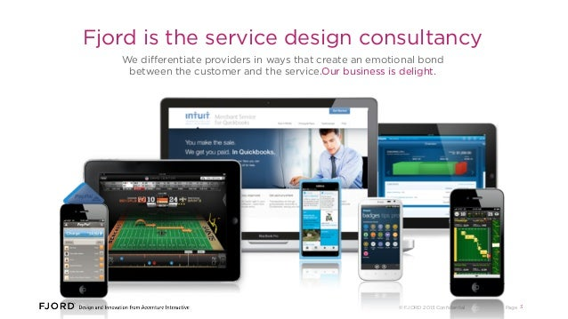 Fjord is the service design consultancy We differentiate providers in ways that create an emotional bond between the custom...