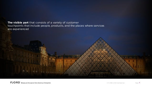 Every customer experience has two parts The visible part that consists of a variety of customer touchpoints that include p...
