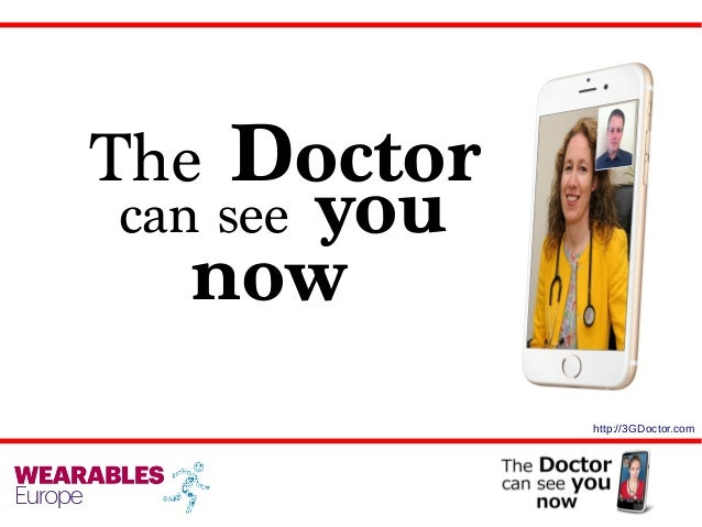 The Doctor can see you now http://3GDoctor.com