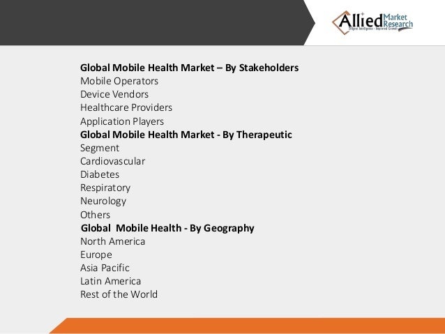mhealth market is expected to reach Visiongain calculates the global mhealth market will reach $1033 billion in 2015.
