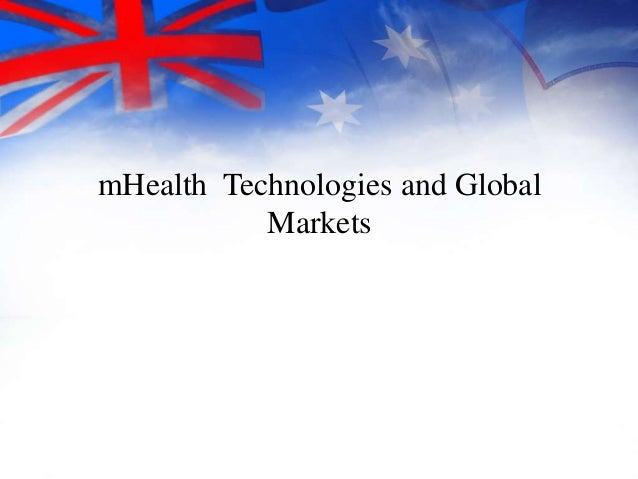 Bharat Book Bureau www.bharatbook.com One-Stop Shop for Business Information mHealth Technologies and Global Markets