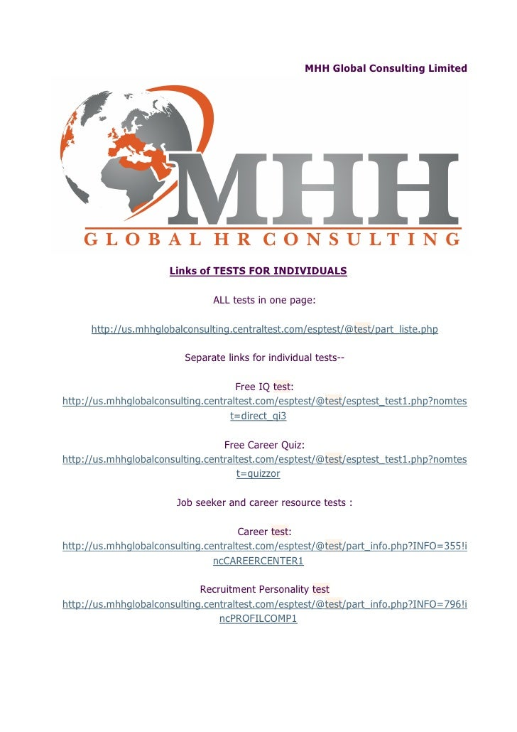 MHH Global HR Consulting &