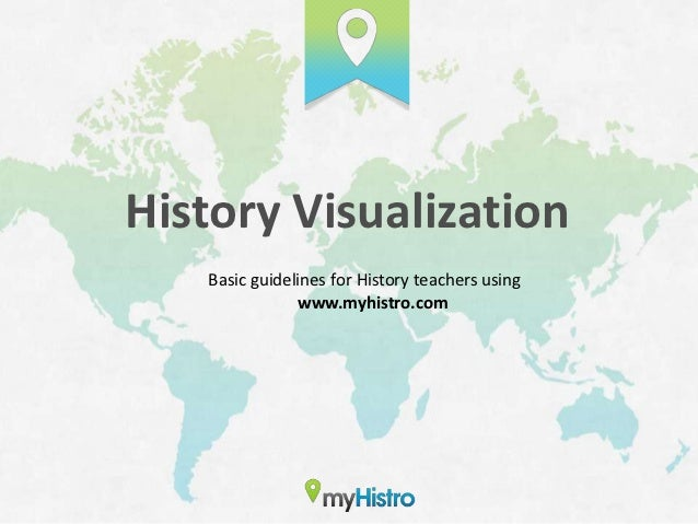 History Visualization   Basic guidelines for History teachers using               www.myhistro.com