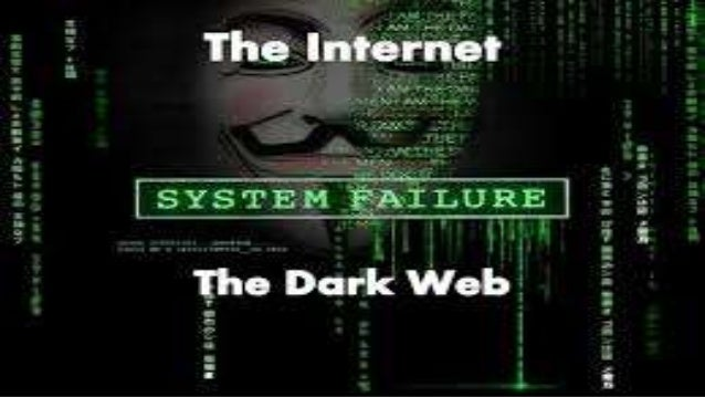 Dark web/ dark net