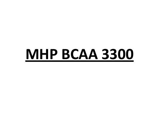 MHP BCAA 3300