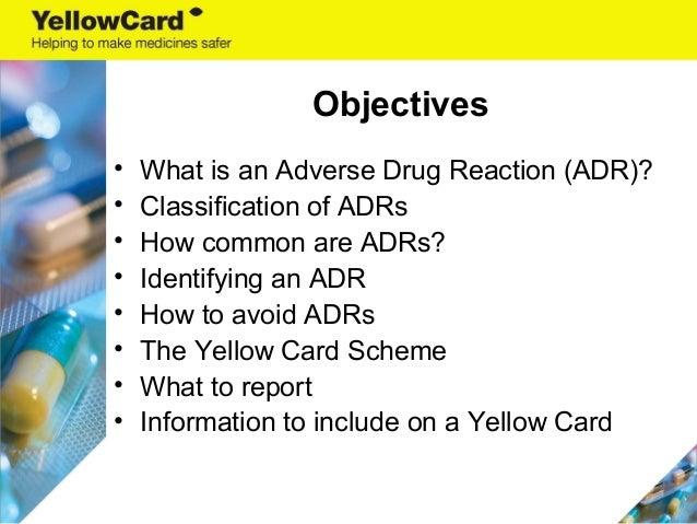 MHRA Yellow Card Scheme