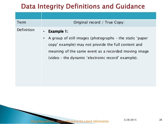 Mhra data integrity requirements latest information 28 pronofoot35fo Gallery