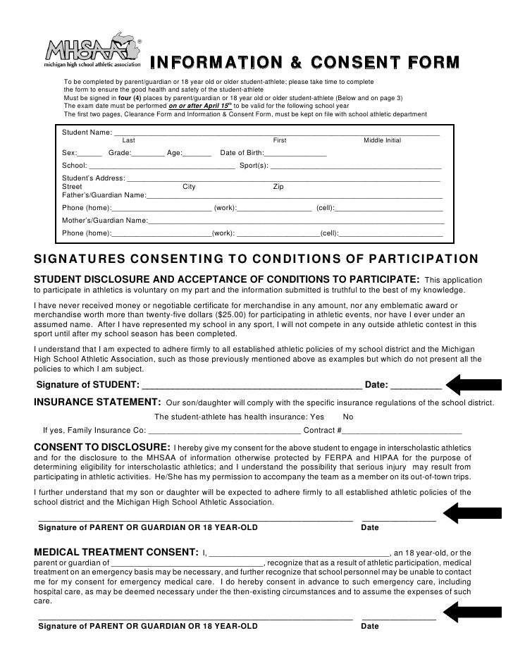 Hipaa Consent Forms. Generic Medical Records Release Form ...