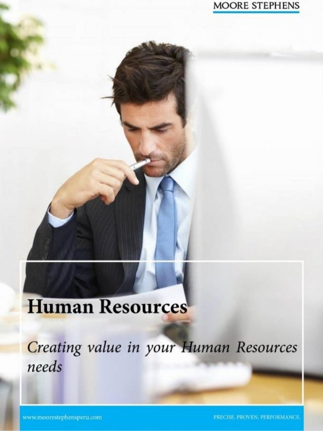 Moore Stephens Human Resources Brochure