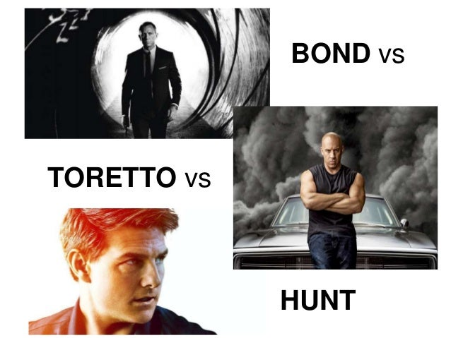 BOND vs TORETTO vs HUNT