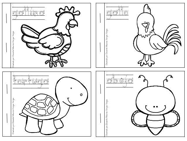 Mi Libro De Colorear De Animales Domesticos