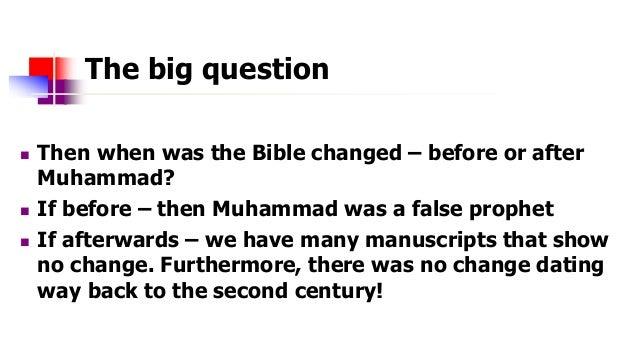 muhammad false prophet yahoo dating