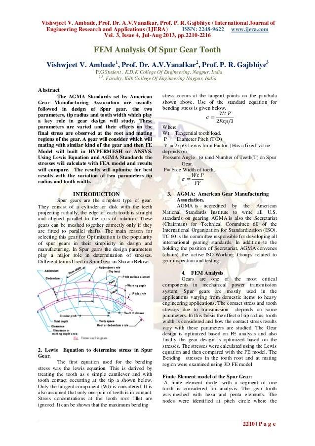 Vishwjeet V. Ambade, Prof. Dr. A.V.Vanalkar, Prof. P. R. Gajbhiye / International Journal of Engineering Research and Appl...