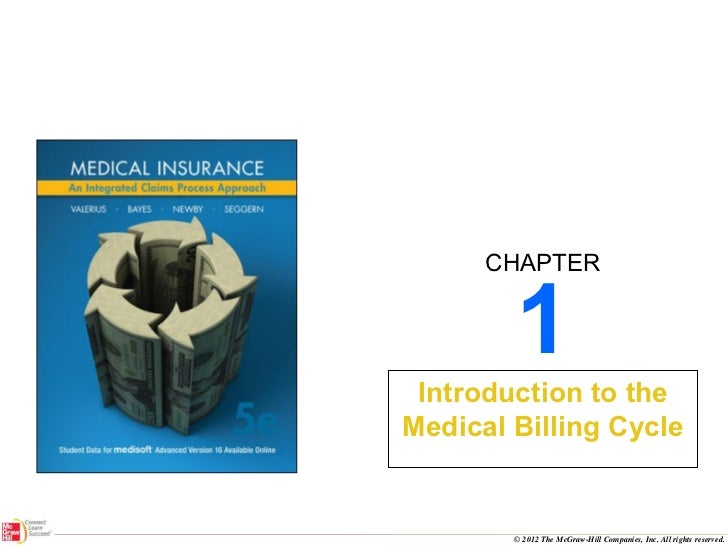1 Introduction to the Medical Billing Cycle