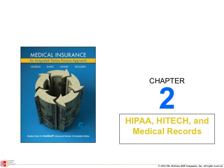 2 HIPAA, HITECH, and Medical Records