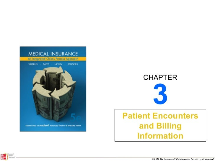3 Patient Encounters and Billing Information