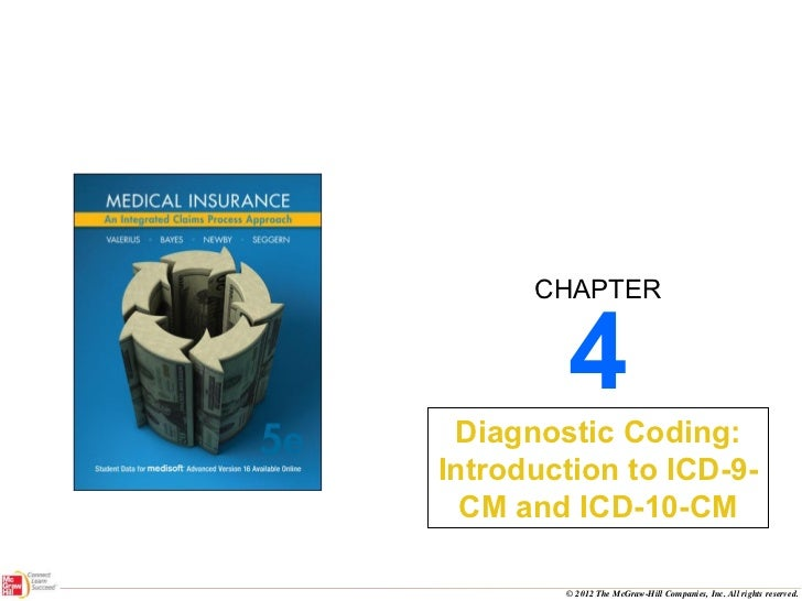 4 Diagnostic Coding: Introduction to ICD-9-CM and ICD-10-CM