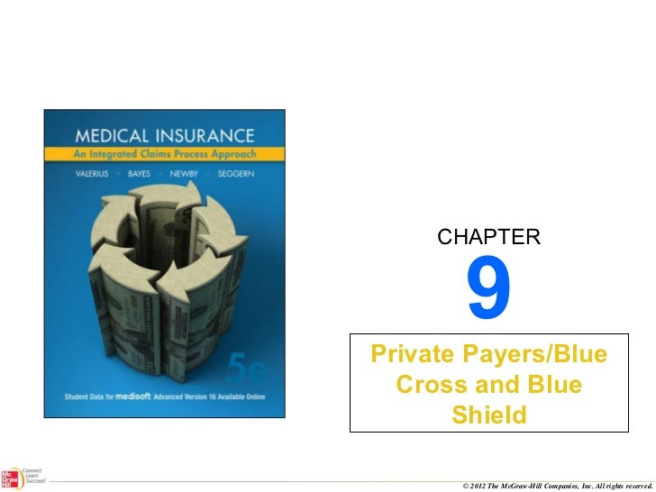 9 Private Payers/Blue Cross and Blue Shield