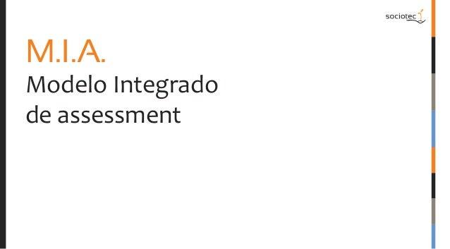 M.I.A.  Modelo Integrado de assessment
