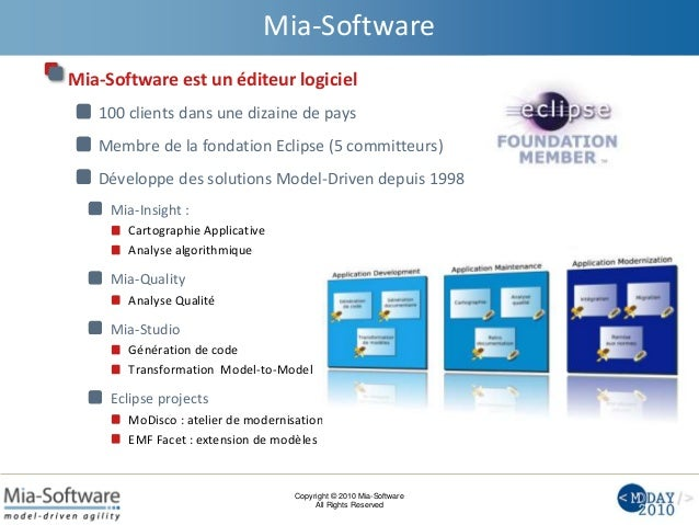Mia-Software at MD Day 2010 Slide 2