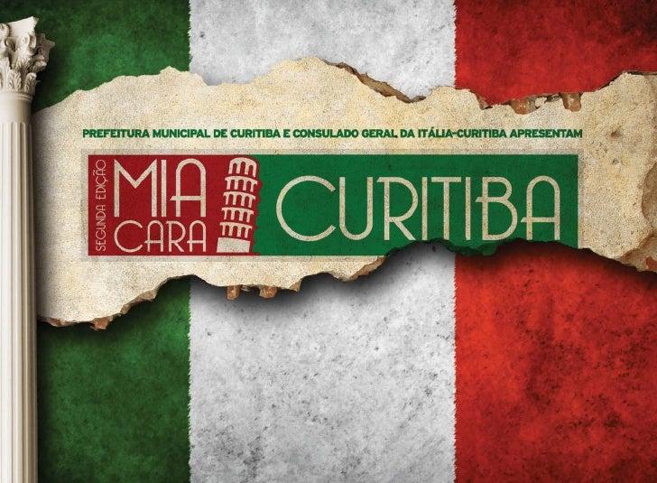 A ITÁLIA VAI                             A CURITIBA                             EM EVENTO                             COME...
