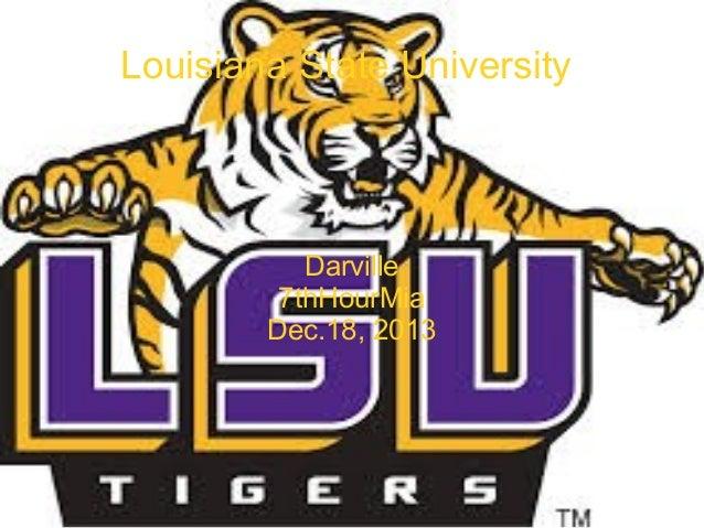 Louisiana State University  Darville 7thHourMia Dec.18, 2013