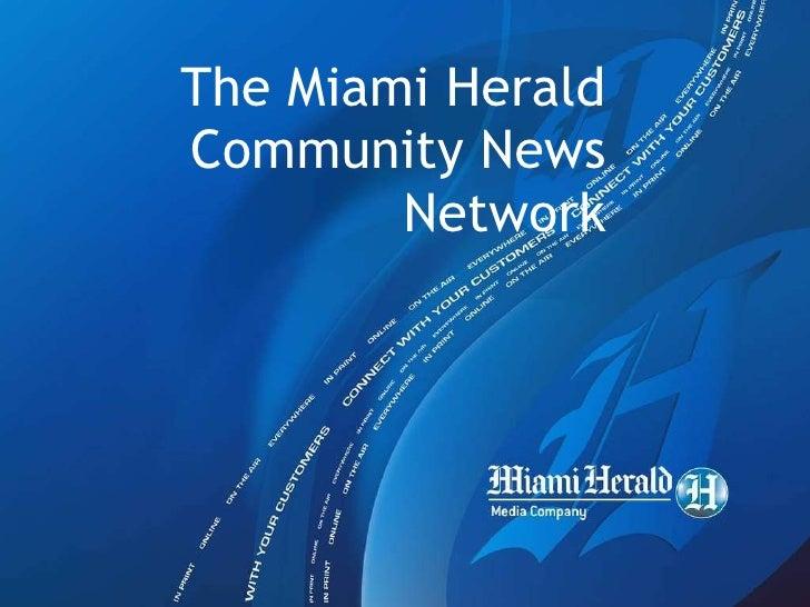 The Miami Herald  Community News Network