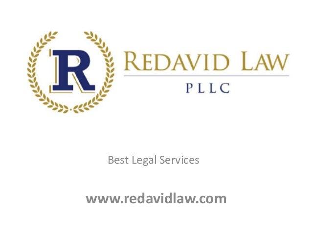 www.redavidlaw.com Best Legal Services