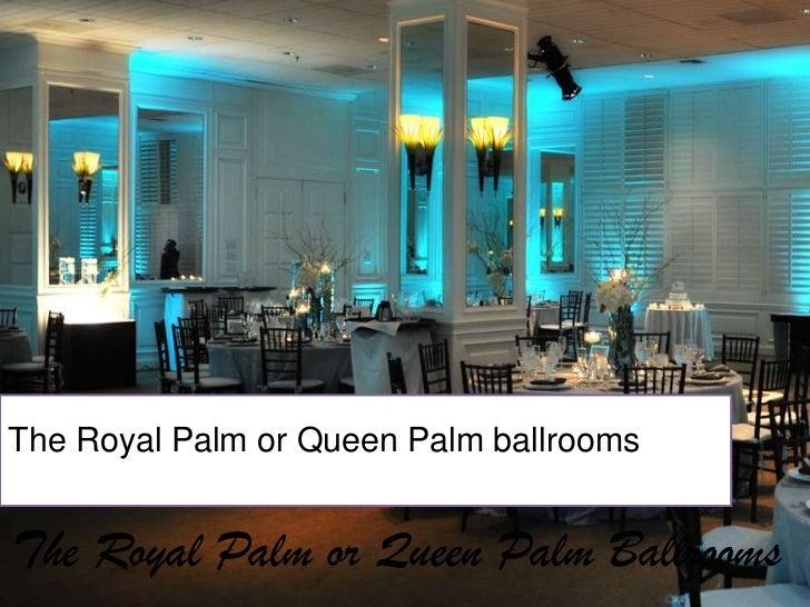 Miami Wedding Locations The Palms Hotel Spa