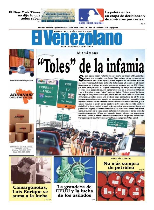 95cb744e0d4a0 Semanario El Venezolano
