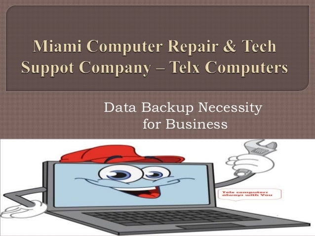 Data Backup Necessity for Business
