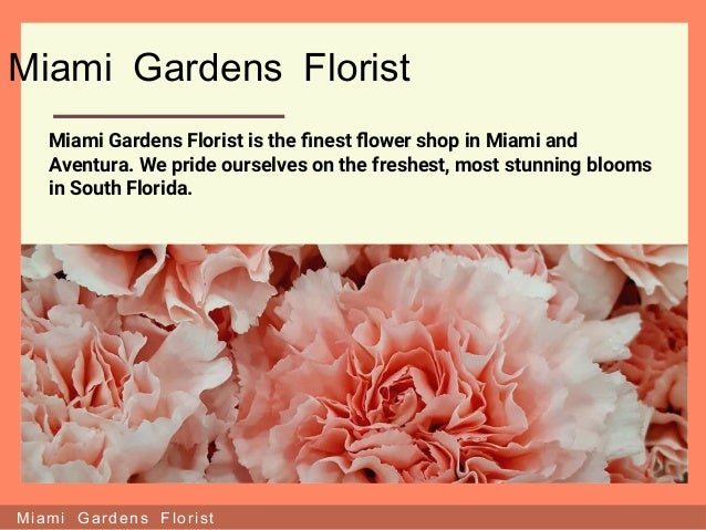 Genial Miami Gardens Florist ...