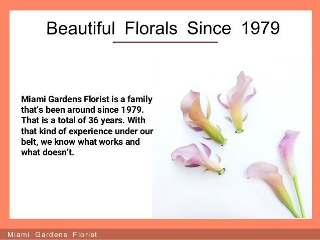 Miami Gardens Florist ...