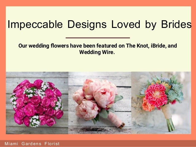 Miami Gardens Florist Flowers For All Occasions; 7.