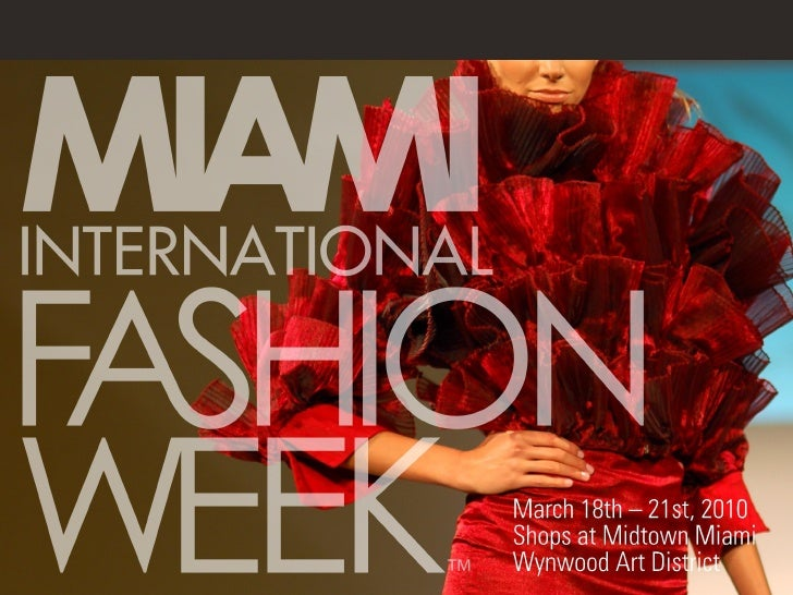 The largest International and Latin American fashion event in the US celebrating both Latin and general market fashion, be...