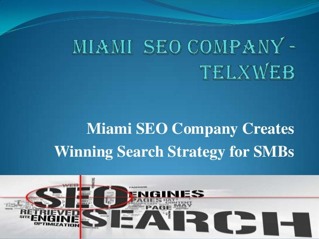 Miami SEO Company Creates Winning Search Strategy for SMBs