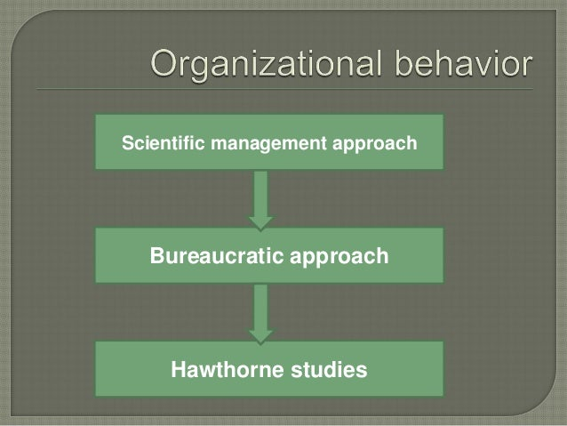 The approach is presented by max weber. Focus on how to structure the whole organization more effectively.