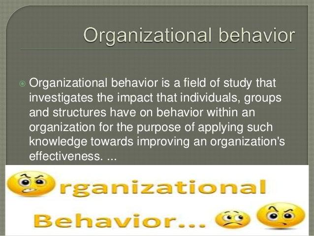 Individual behavior can be understood by three models: (a) Basic model of behavior (b) S-R model of behavior (c) MARS ...