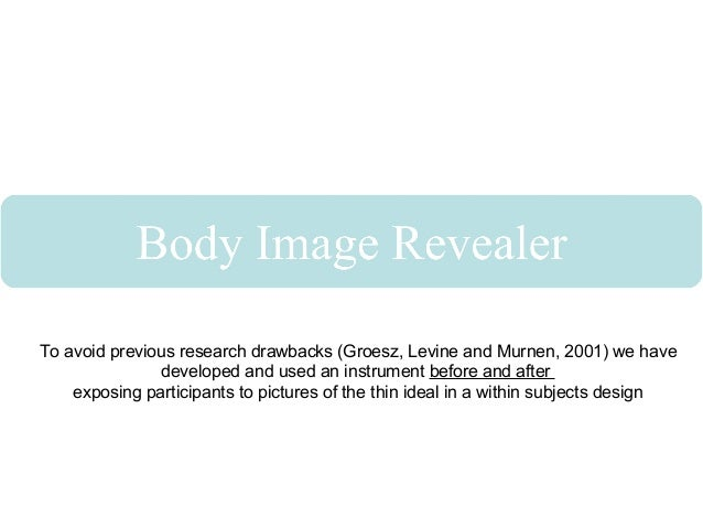 the effect of media on the perception of a females body image Mainstream ideal body image would negatively affect latina women's  to us values might lead to negative body image perceptions in latina women (gowen .