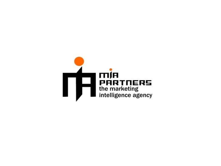 MIA PARTNERS                                  es una consultora de marke8ng cuya misión es brindar ...