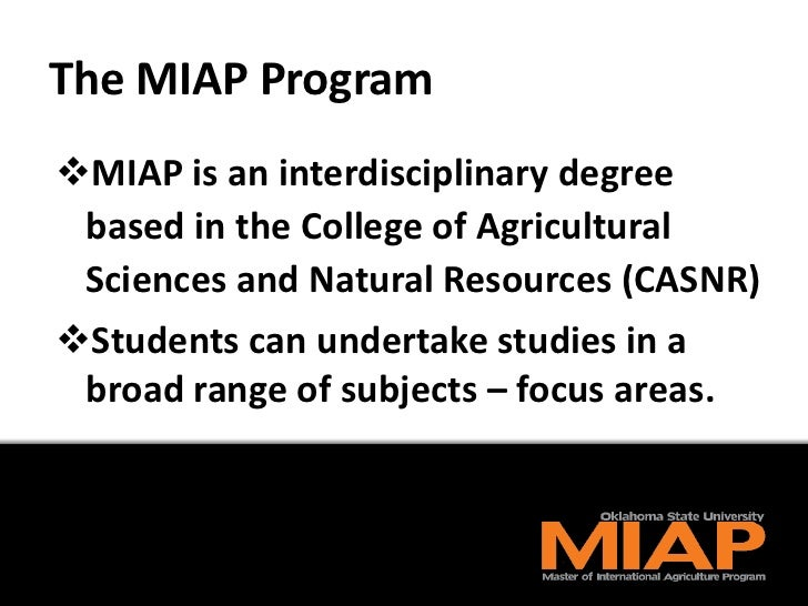 The MIAP Degree