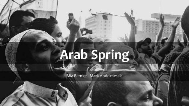 Arab Spring Media Perception