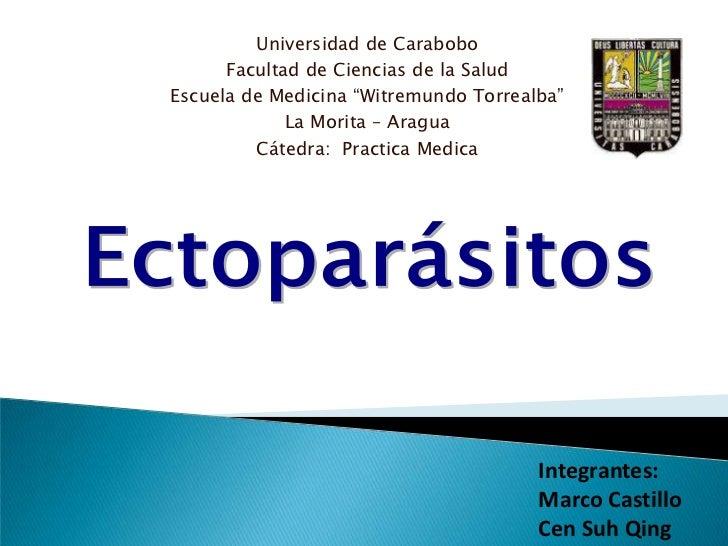 """Universidad de Carabobo<br />Facultad de Ciencias de la Salud<br />Escuela de Medicina """"Witremundo Torrealba""""<br />La Mori..."""